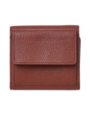 Compact Wallet - Brown
