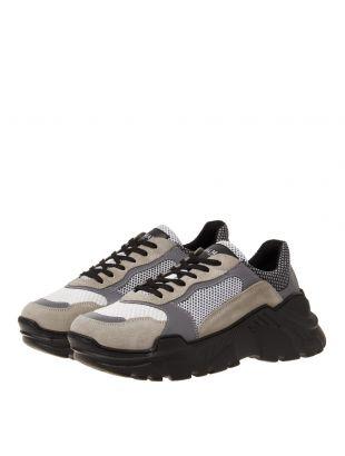 Low Sneakers - Grey / Beige
