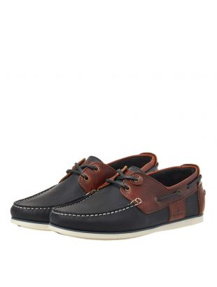 Boat Shoes - Navy / Brown