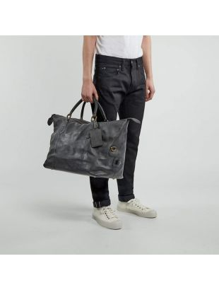 Holdall Travel Explorer - Black Leather
