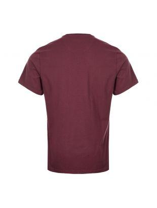 International T-Shirt Logo - Merlot Red