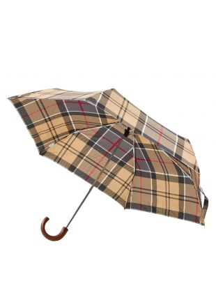 Mini Umbrella - Grey Tartan