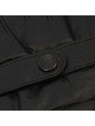 Gloves - Black Burnished Leather Thinsulate