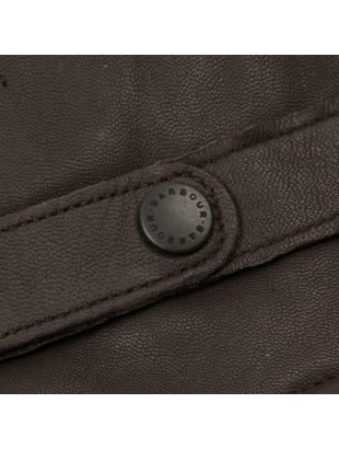 Gloves Burnished Leather Thinsulate - Brown