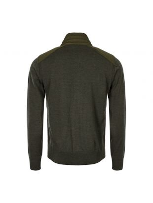 Cardigan Kelby Zip - Dark Military Green