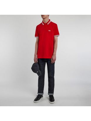 Athleisure Paddy Polo - Red