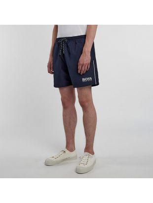 Bodywear Swim Shorts - Navy Starfish