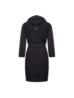 Bodywear Dressing Gown – Black / White