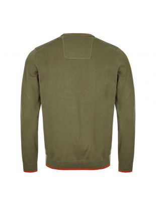 Athleisure Knitted Sweatshirt - Green