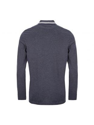 Athleisure Long Sleeve Polo Shirt – Open Blue