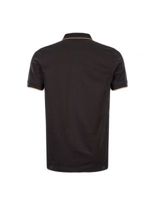 Athleisure Polo Shirt – Black