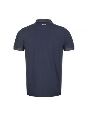 Athleisure Polo Shirt - Navy