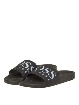 Athleisure Slides - Black