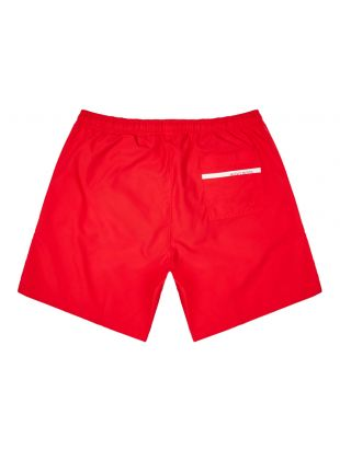 Bodywear Dolphin Swim Shorts - Red