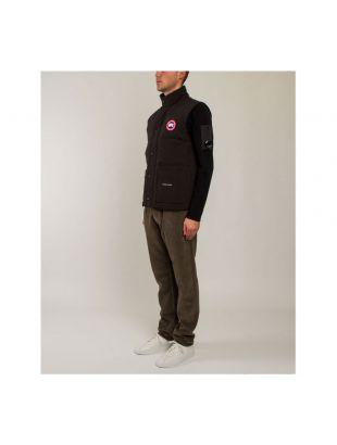 Freestyle Crew Vest - Black