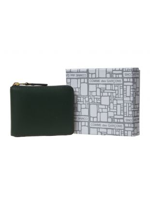 Classic Zip Wallet - Bottle Green