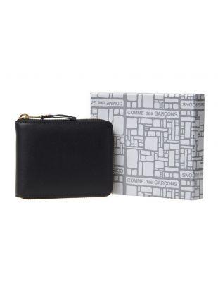 Classic Zip Wallet - Black