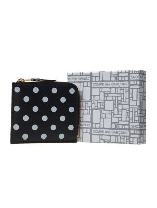 Wallet Polka Dot - Black