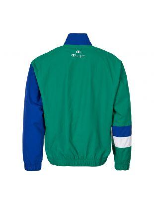 Track Jacket - Blue / Green