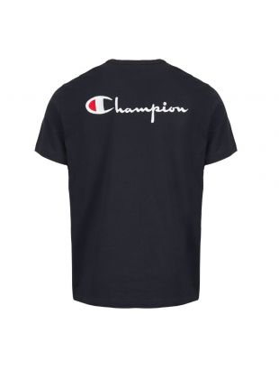 T-Shirt Back Logo - Navy