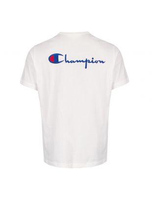 T-Shirt Back Logo - White