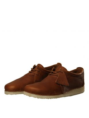 Ashton Shoes - Cola Leather