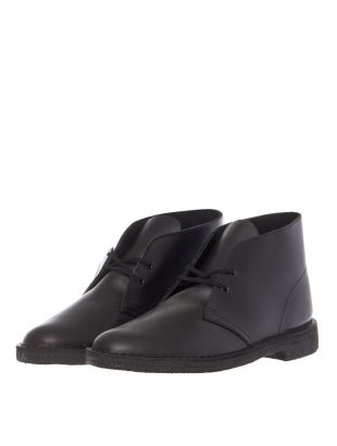 Desert Boots - Polished Black