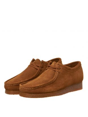 Wallabee Shoes - Cola Suede