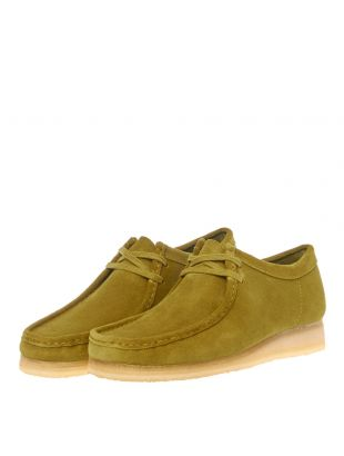 Wallabee Shoes - Khaki Suede