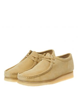 Wallabee Shoes - Maple Suede