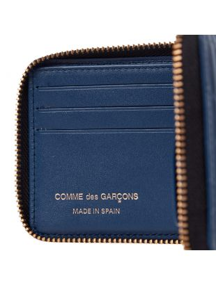 Brick Line Wallet - Blue