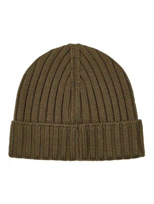 Beanie Patch Logo - Dusty Olive