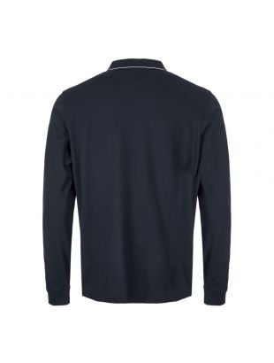 Long Sleeve Polo Shirt - Total Eclipse