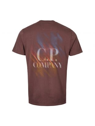 T-Shirt Logo – Peppercorn / Brown
