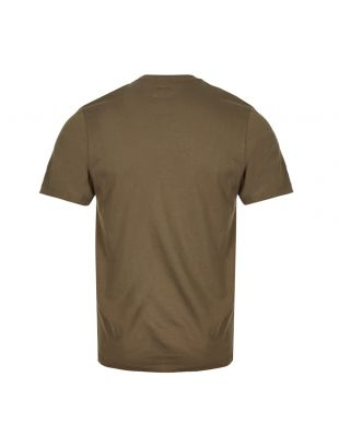 T-Shirt Printed Label - Olive