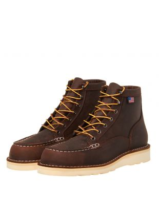 Boots Bull Run Moc Toe - Brown