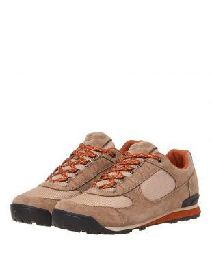 Jag Low Shoes - Taupe / Orange