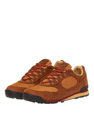 Jag Low Shoes - Brown / Maroon