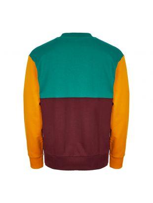Sweatshirt - Burgundy / Green / Yellow