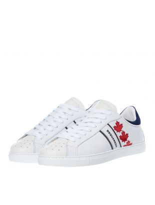 Trainers – White / Red