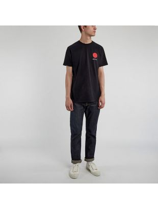 T-Shirt Japanese Sun Logo - Black