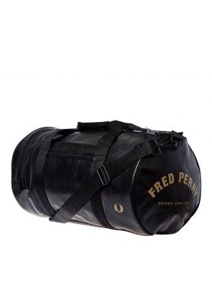 Barrel Bag – Black / Gold