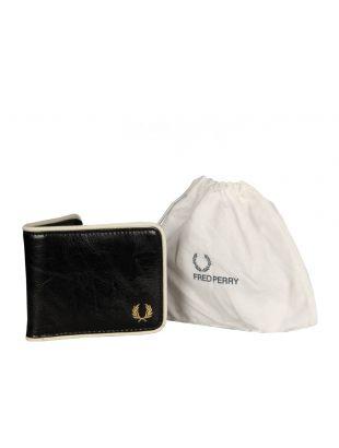 Wallet - Black and Ecru