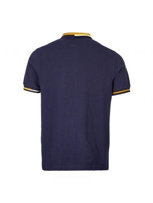 Polo Abstract Collar - Carbon Blue