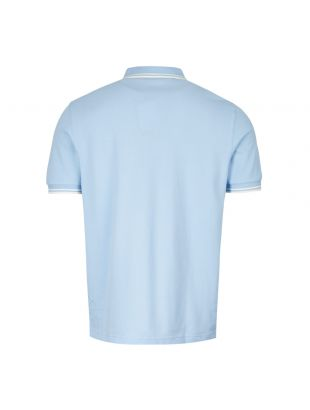 Twin Tipped Polo Shirt – Summer Blue