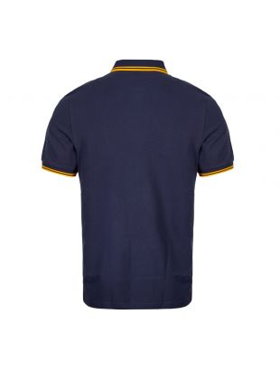 Twin Tipped Polo Shirt – Carbon Blue