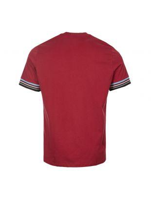T-Shirt – Maroon Stripe