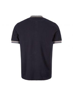 T-Shirt Henley Pique - Navy