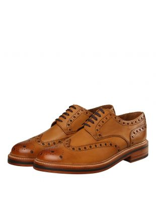 Archie Brogues - Tan