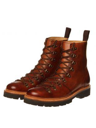 Brady Ski Boots - Handpainted Tan